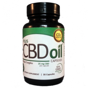 Buy CBD Hemp Seed Oil Capsules (CO2) Online UK