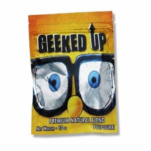 Buy Geeked Up Herbal Incense UK