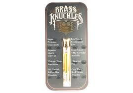 Buy Brass Knuckles Premium Cannabis Cartridge Online UK