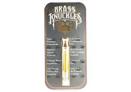 Buy Brass Knuckle Vape Cartridge Online